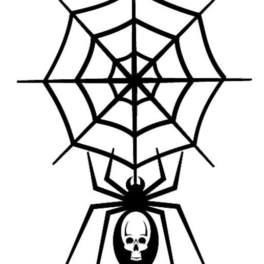 spider-publicdomainvectors.org.jpg Télécharger fichier STL gratuit SPIDER • Design à imprimer en 3D, oasisk