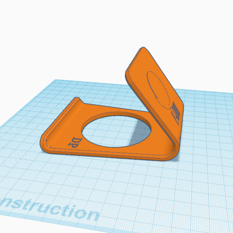 Download free 3D printing templates Smartphone support, oasisk