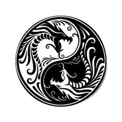 yin yang dragons2.png Télécharger fichier STL gratuit Yin Yang Dragons v2 • Design pour imprimante 3D, oasisk