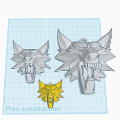 0.png Download free STL file stylized wolf head • Template to 3D print, oasisk