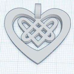 0.png Download free STL file Celtic Heart Jewelry • 3D printable object, oasisk