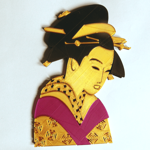 Download free 3D printing models GEISHA Supplement, oasisk