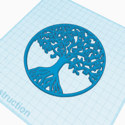 Download free 3D printer templates Tree of Life, oasisk