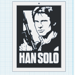 0.png Download free STL file Han Solo - Harrison Ford • 3D printable object, oasisk