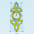 2.png Download free STL file Celtic jewelry • 3D printable object, oasisk