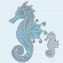 0.png Download free STL file Seahorse • 3D printer design, oasisk