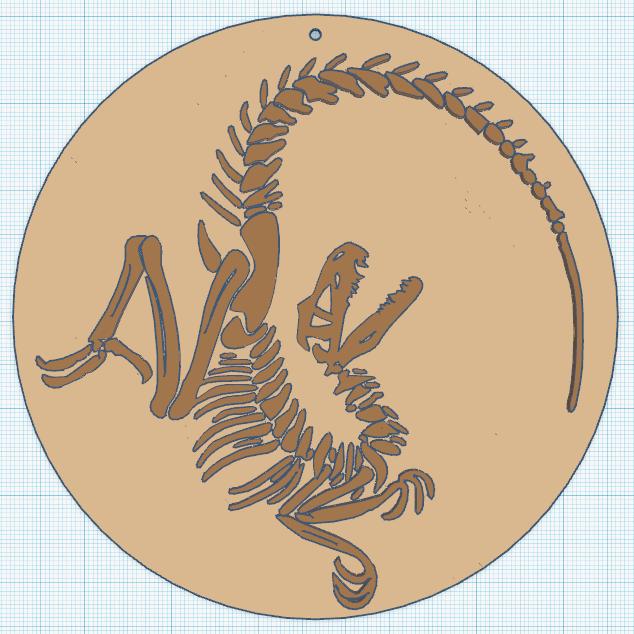 0.png Download free STL file Velociraptor fossil • 3D printing model, oasisk