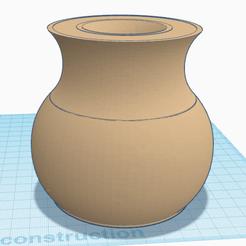 Download free STL Vase-Bol, oasisk
