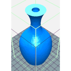Download free 3D print files SINGLE VASE FOR A ROSE, oasisk