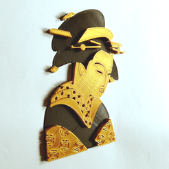 Download free 3D printing designs GEISHA, oasisk