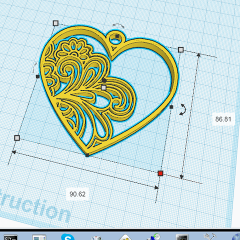 2.png Download free STL file HEART • 3D printing template, oasisk