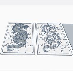 0_1.png Download free STL file Dragon Puzzle • 3D print design, oasisk