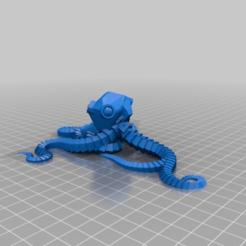 a2644030f4bc69acf9f85fd1606953d6.png Download free STL file My Customized Plastic Reef #2: Random Octopus Generator • 3D printing design, bradblog