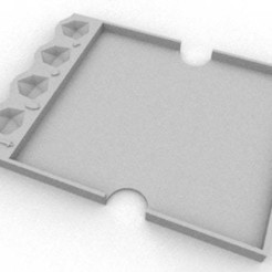 Tray_1.jpg Download free STL file HeroQuest Character Card Tray • 3D printing design, Gemenon-Prop-Replicas