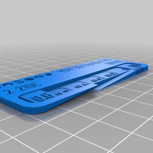 7757c5e6b759a5722889bfe1f09e35df.png Télécharger fichier STL gratuit Ma montre filament personnalisée (YOYI 3D Flexible TPU) • Plan pour impression 3D, Gemenon-Prop-Replicas