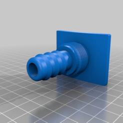 ee19a718b0e222813dc42ed530613bf3.png Download free STL file Garden Hose Adapter Spout for 5 Gallon Bucket • 3D printer template, Gemenon-Prop-Replicas