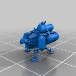 "Ship_STL_FINAL_fixed.png Download free STL file Ship from ""Outer Wilds"" • 3D printer design, Gemenon-Prop-Replicas"