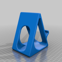 ebcd5b7f3a24f6b1fbc8a8b43b1d4bce.png Download free STL file Phone Stand - No Supports - Fits large phone with case • Template to 3D print, Gemenon-Prop-Replicas