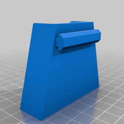Flush_Cutter_Holder_Remix_fixed.png Download free STL file Flush Cutter Holder for Max Z Height • 3D print object, Gemenon-Prop-Replicas