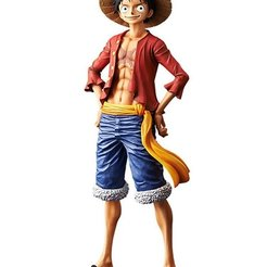 Download 3D printing files luffy one piece, adand7print3dt1000