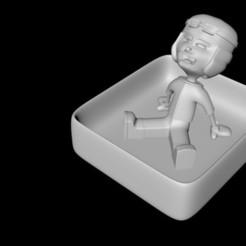 Descargar modelos 3D chico de los botes, edesachan