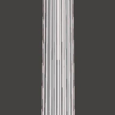 front.JPG Download free OBJ file Greek column • 3D print model, CadForCam