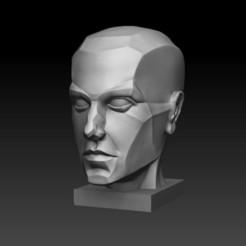 Free 3d printer model Anatomy of the human head , ArtMoodStudio