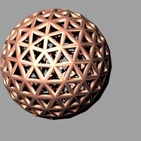 Download free 3D printer designs Geodesic Dome Triangles, dklopotek