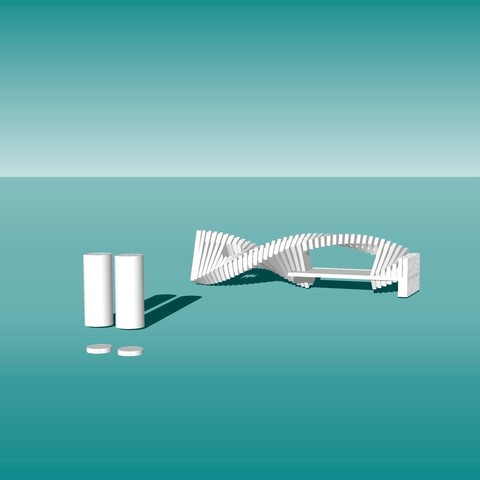 Télécharger fichier impression 3D gratuit Architecture Porte-beurre, dklopotek