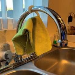 IMG_1398.jpg Télécharger fichier STL gratuit Crochet de robinetterie pour sécher votre linge de toilette • Design imprimable en 3D, alfa4liveejk
