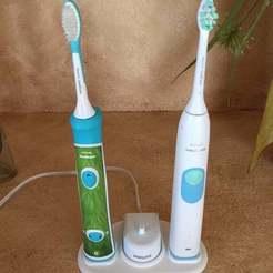 Download free STL Philips Sonicare toothbrush holder, alfa4liveejk