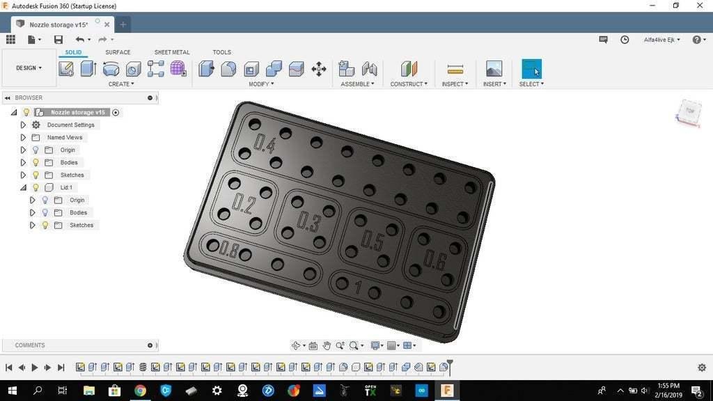 Photo.jpg Télécharger fichier STL gratuit Grande boîte de stockage de buses • Modèle pour imprimante 3D, alfa4liveejk