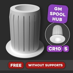 Download free 3D printing files CR10(S) - GM Spool Hub Adapter, Gizmil