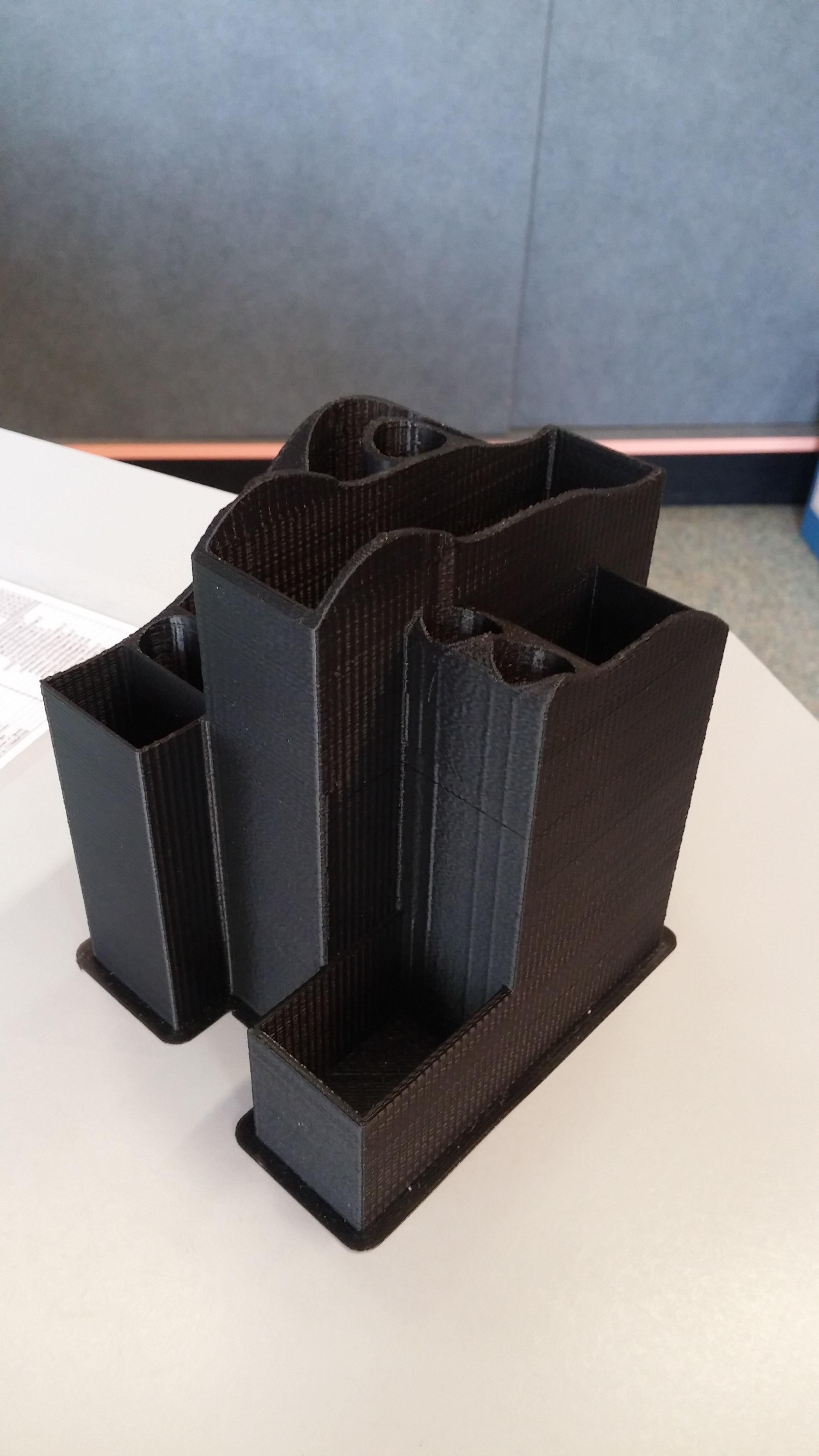 20181009_112104.jpg Download STL file Design pencil holder, desk organizer, pencil box, desk organizer • 3D printing design, divad52