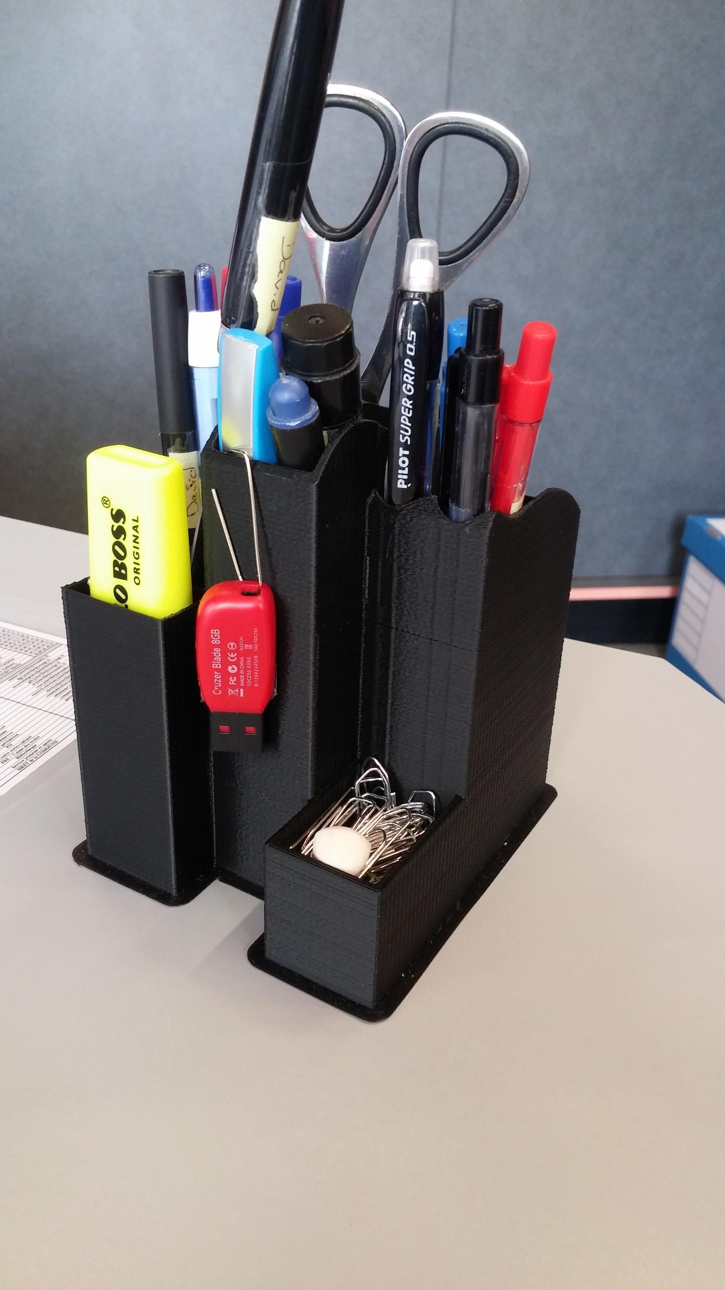 20181009_111921.jpg Download STL file Design pencil holder, desk organizer, pencil box, desk organizer • 3D printing design, divad52