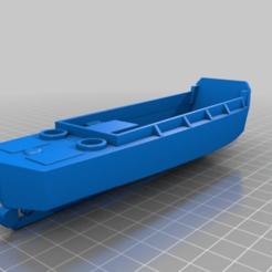 Descargar archivos 3D gratis 1-56 a 1-300 lancha de desembarco, vehículo, personal (LCVP) Barco Higgins (Casco completo), drholdsworth