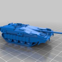 Descargar modelo 3D gratis El tanque S sueco Stridsvagn 103 (1-100), drholdsworth