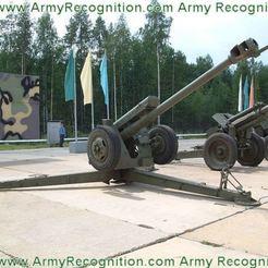 Descargar archivo 3D gratis El obús D-30 de la guerra fría soviética remolcó un obús de 122 mm, drholdsworth