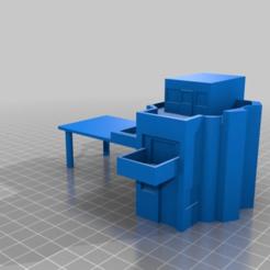 Imprimir en 3D gratis 6 mm de terreno de juego de guerra de la Mansión Moderna, drholdsworth
