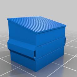 efe8a151c3a0e688a4e3279e446bc61c.png Télécharger fichier 3MF gratuit Benne à ordures de 4 mètres - échelle 15mm • Plan pour impression 3D, drholdsworth