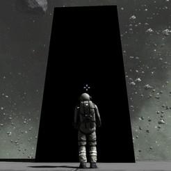 15298591127_12eb6dcfe1_o.jpg Télécharger fichier OBJ gratuit 2001 Une odyssée de l'espace - Monolithe - Figurine entièrement articulée à l'échelle HO ! • Objet à imprimer en 3D, drholdsworth