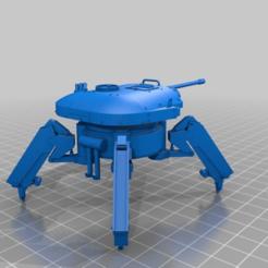Descargar archivo 3D gratis LM AD52a1 tanque caminante, drholdsworth