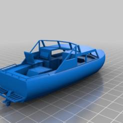Descargar modelos 3D gratis 1-87 Crucero de cabina (MV Bait-fish) Casco completo y línea de flotación, drholdsworth