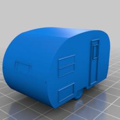 Descargar Modelos 3D para imprimir gratis Remolque de viaje genérico de los años 60 (HO, 18mm), drholdsworth