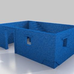 Descargar archivos STL gratis 1-87 HO - Pequeña vivienda de ladrillos de barro, drholdsworth