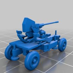 Download free STL file Remix of marcusmole Bofors gun 40mm light AA, drholdsworth