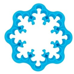 3D printing model Coockie Cutter - Snowflake, arsenich12