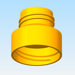 Free STL files bottle adapter, cylion
