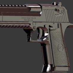 de1.png Download STL file Desert Eagle 50 • 3D printable object, callmon