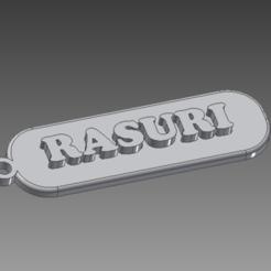 Download 3D printing designs Rasuri key ring, Spyn3D